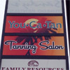 Tanning Salon Sign - You Ca Tan