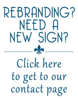 Rebranding? Need a New Sign? Contact Pro Signs & Graphics